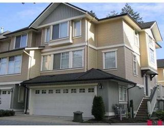 """Main Photo: 53 8383 159TH Street in Surrey: Fleetwood Tynehead Townhouse for sale in """"Avalon Woods"""" : MLS®# F1005234"""