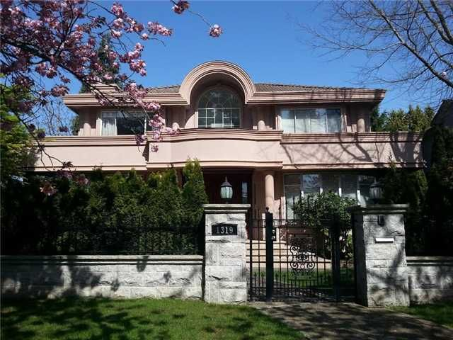 Main Photo: 1319 W 52ND Avenue in Vancouver: South Granville House for sale (Vancouver West)  : MLS®# V1114005