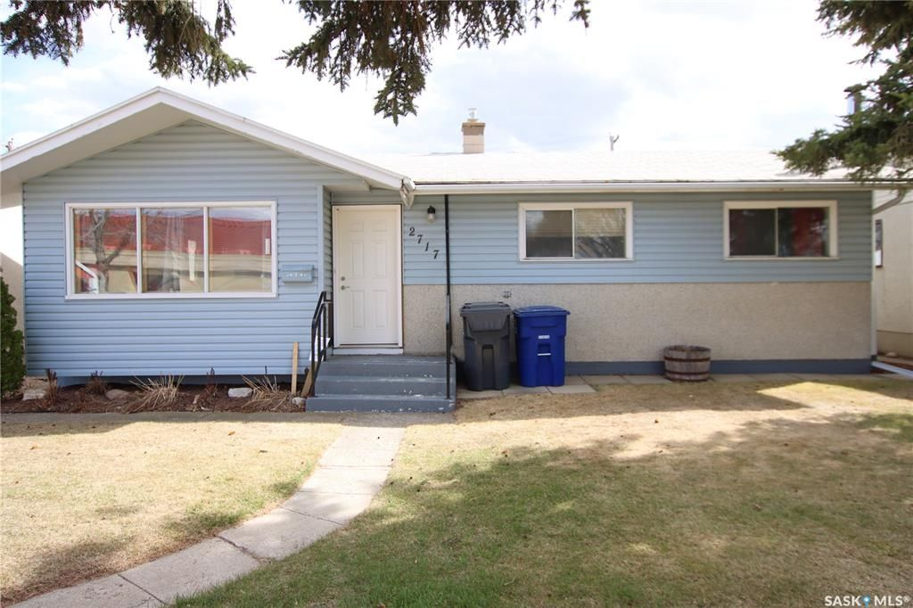 Main Photo: 2717 23rd Street West in Saskatoon: Mount Royal SA Residential for sale : MLS®# SK864690