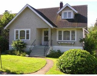 Photo 1: 3422 W 38TH AV in Vancouver: Southlands House for sale (Vancouver West)  : MLS®# V541782