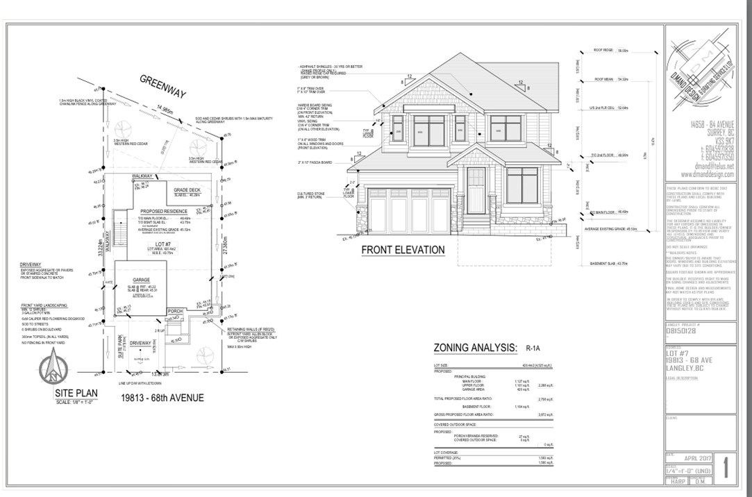 Main Photo: 19813 68 Avenue in Langley: Willoughby Heights Land for sale : MLS®# R2172450