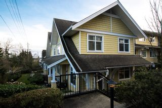 "Photo 1: 5 6878 SOUTHPOINT Drive in Burnaby: South Slope Townhouse for sale in ""CORTINA"" (Burnaby South)  : MLS®# R2143972"
