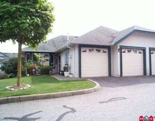 """Photo 1: 167 3160 TOWNLINE RD in Abbotsford: Abbotsford West Townhouse for sale in """"Southpoint Ridge"""" : MLS®# F2508590"""