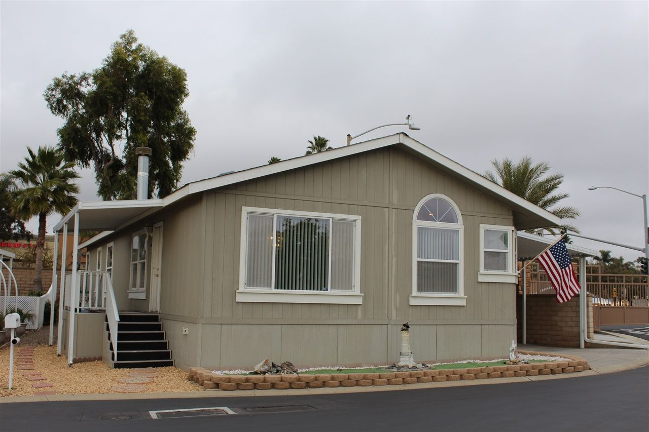 Main Photo: CARLSBAD SOUTH Manufactured Home for sale : 3 bedrooms : 7122 San Bartolo #1 in Carlsbad