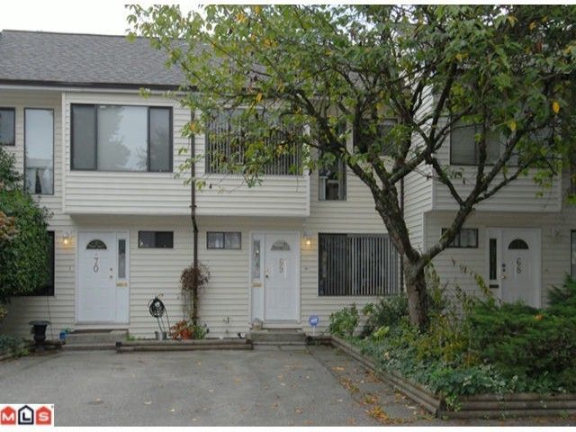 """Main Photo: 69 9368 128TH Street in SURREY: Queen Mary Park Surrey Townhouse for sale in """"SURREY MEADOWS"""" (Surrey)  : MLS®# F1302023"""