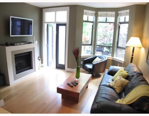 """Photo 5: Photos: 842 W 6TH Avenue in Vancouver: Fairview VW Townhouse for sale in """"BOXWOOD GREEN"""" (Vancouver West)  : MLS®# V650678"""