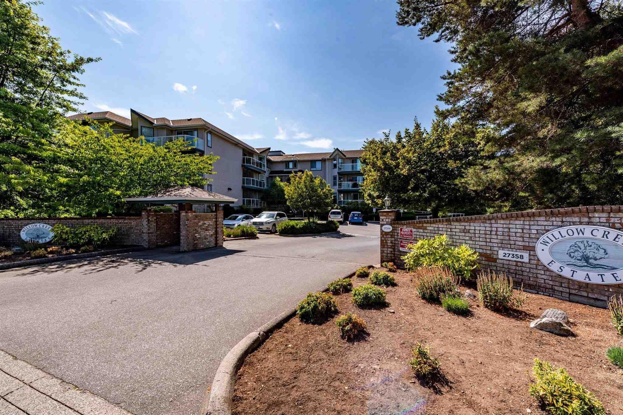 "Main Photo: 204 27358 32 Avenue in Langley: Aldergrove Langley Condo for sale in ""Willow Creek"" : MLS®# R2605265"