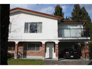 Photo 1: 6677 CURTIS Street in Burnaby: Sperling-Duthie 1/2 Duplex for sale (Burnaby North)  : MLS®# V1050057