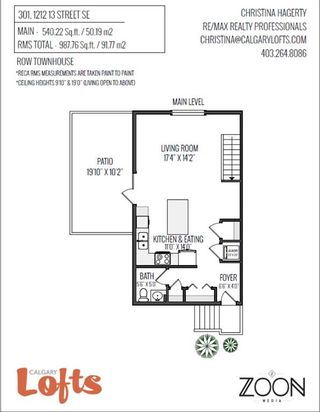 Photo 39: 301 1212 13 Street SE in Calgary: Inglewood Row/Townhouse for sale : MLS®# A1074711