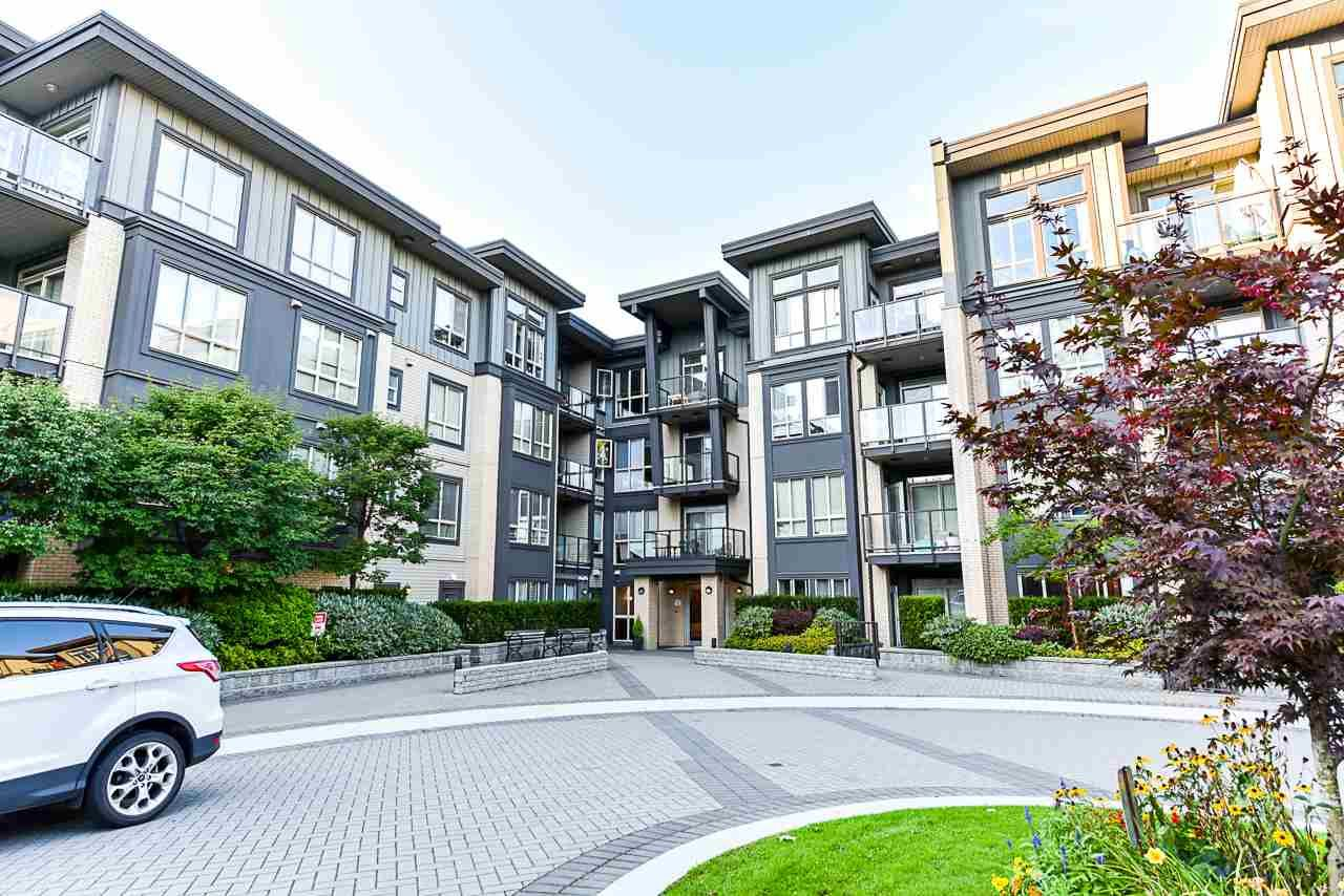 """Main Photo: 111 225 FRANCIS Way in New Westminster: Fraserview NW Condo for sale in """"WHITTAKER"""" : MLS®# R2497580"""
