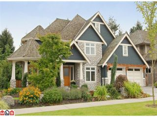 """Photo 1: 3098 162A Street in Surrey: Grandview Surrey House for sale in """"MORGAN ACRES"""" (South Surrey White Rock)  : MLS®# F1124505"""