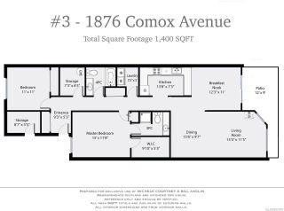 Photo 9: 3 1876 COMOX Avenue in COMOX: CV Comox (Town of) Condo for sale (Comox Valley)  : MLS®# 802918