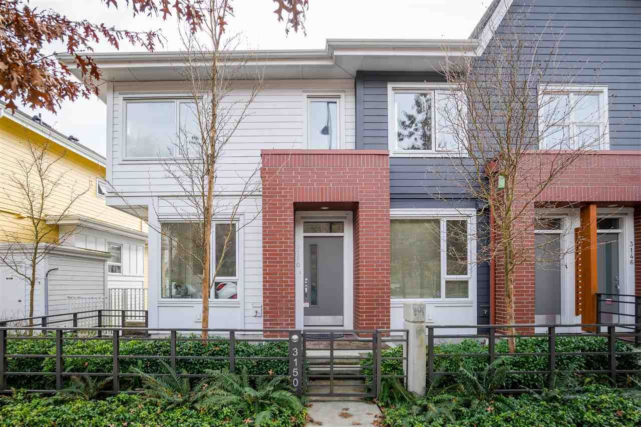 Main Photo: 3150 PIERVIEW Crescent in Vancouver: Champlain Heights Townhouse for sale (Vancouver East)  : MLS®# R2249784