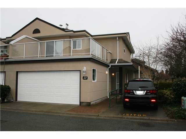 Main Photo: 27 15875 84 AVENUE in : Fleetwood Tynehead Townhouse for sale (Surrey)  : MLS®# F1326615
