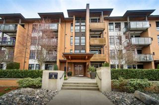Photo 1: 201 220 SALTER Street in New Westminster: Queensborough Condo for sale : MLS®# R2557447