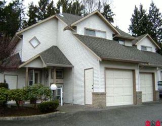 """Photo 1: 45 32361 Mcrae Avenue in Mission: Townhouse for sale in """"Spencer Estates"""" : MLS®# F1003310"""