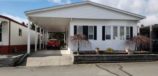 "Photo 1: 102 27111 0 Avenue in Langley: Aldergrove Langley Manufactured Home for sale in ""Pioneer Park"" : MLS®# R2556283"