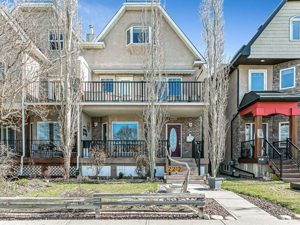 Main Photo: 2212 9 Avenue SE in Calgary: Inglewood Semi Detached for sale : MLS®# A1097804