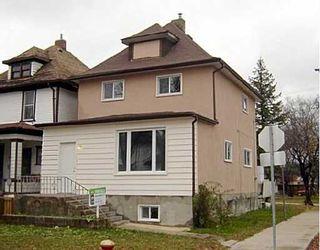 Photo 1: 421 BANNING Street in WINNIPEG: West End / Wolseley Residential for sale (West Winnipeg)  : MLS®# 2718159