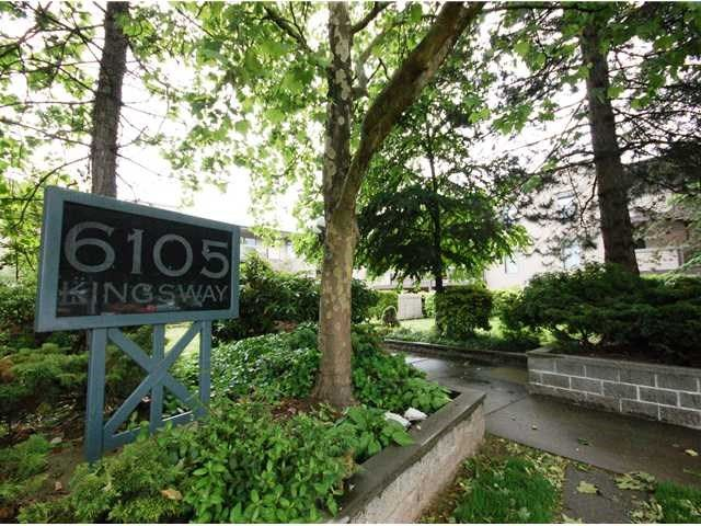 """Main Photo: 311 6105 KINGSWAY in Burnaby: Highgate Condo for sale in """"HAMBRY COURT"""" (Burnaby South)  : MLS®# R2083290"""