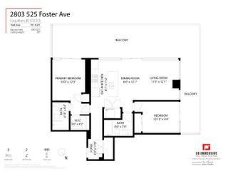 """Photo 37: 2803 525 FOSTER Avenue in Coquitlam: Coquitlam West Condo for sale in """"LOUGHEED HEIGHTS 2"""" : MLS®# R2624723"""