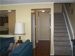Photo 4: 6 124 SABRINA Way SW in CALGARY: Southwood Townhouse for sale (Calgary)  : MLS®# C3552564