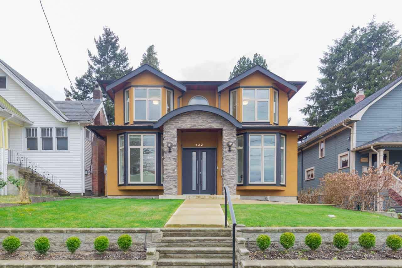Main Photo: 622 COLBORNE Street in New Westminster: GlenBrooke North House for sale : MLS®# R2550426