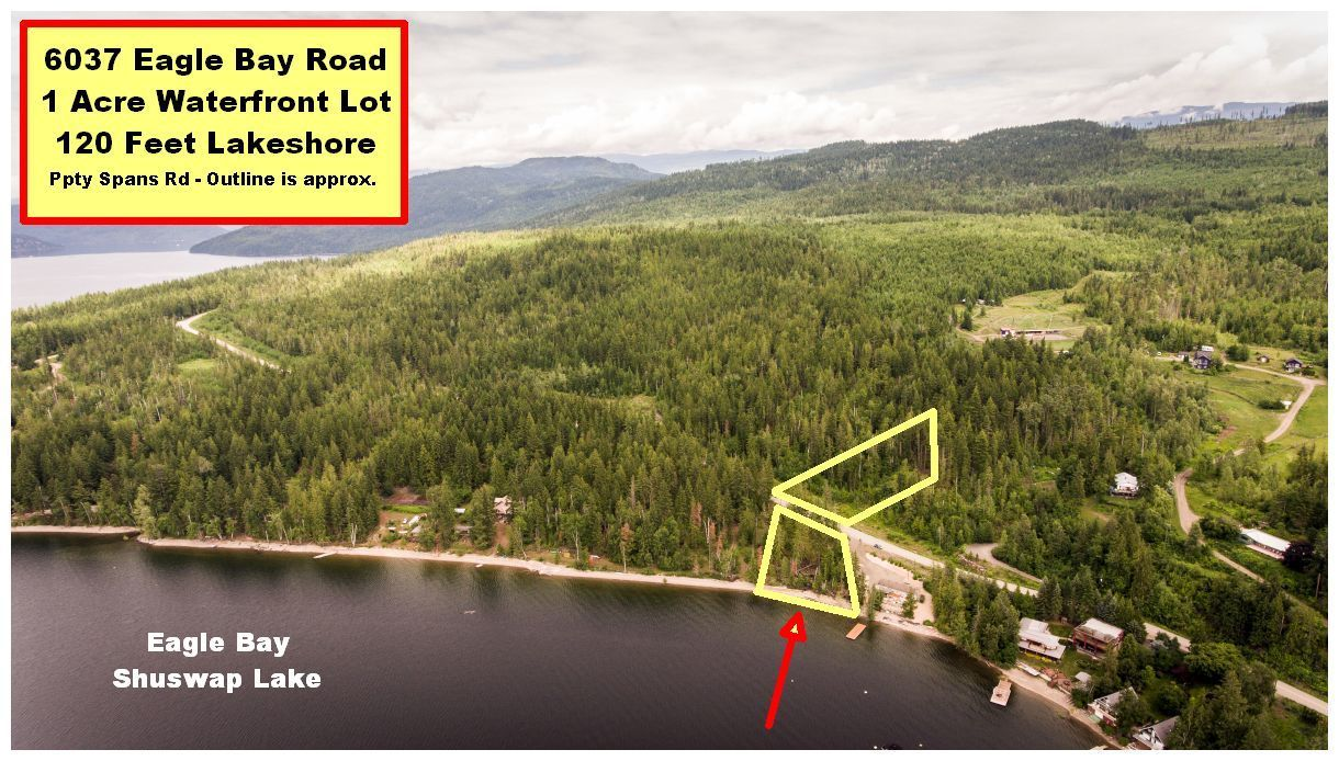 Main Photo: 6037 Eagle Bay Road in Eagle Bay: Million Dollar Alley Vacant Land for sale : MLS®# 10205016