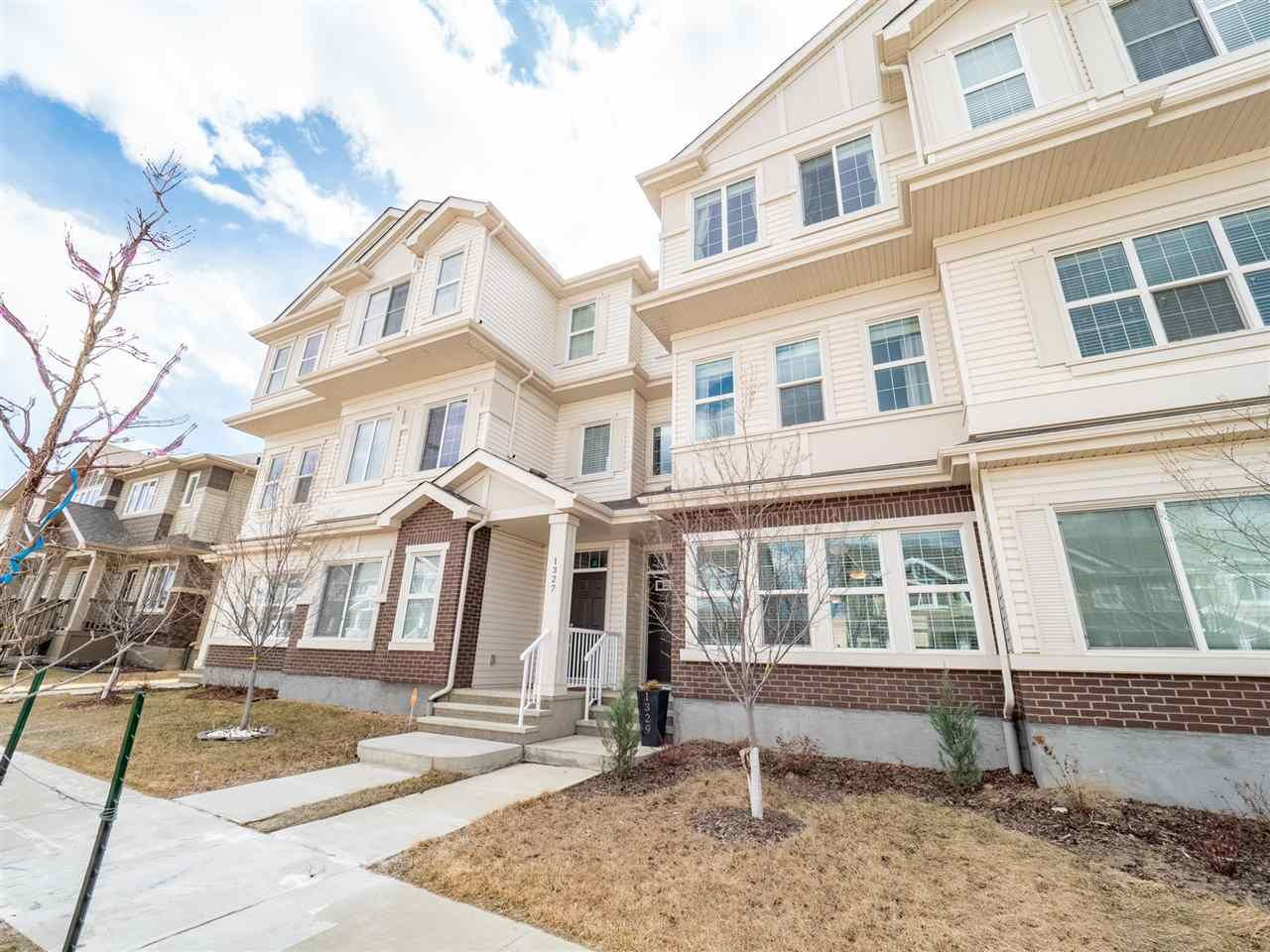 Main Photo:  in Edmonton: Zone 55 Attached Home for sale : MLS®# E4241643