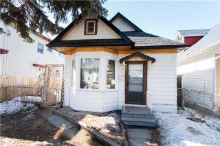 Photo 1: 626 Burnell Street in Winnipeg: West End Residential for sale (5C)  : MLS®# 1807107