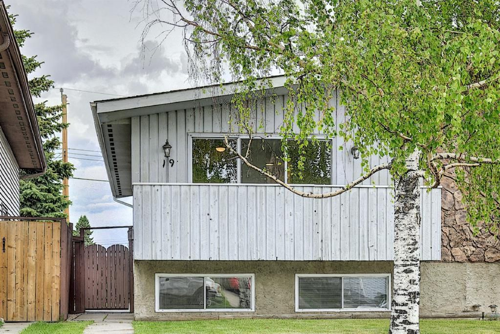 Main Photo: 19 DOVERVILLE Way SE in Calgary: Dover Semi Detached for sale : MLS®# A1122005