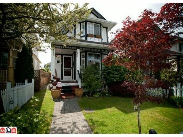Photo 1: Photos: 18472 65TH AV in Surrey: Cloverdale BC House for sale (Cloverdale)  : MLS®# F1435836
