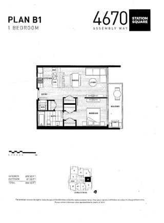 """Photo 14: 2909 4670 ASSEMBLY Way in Burnaby: Metrotown Condo for sale in """"Station Square"""" (Burnaby South)  : MLS®# R2564730"""