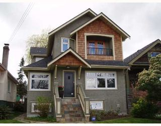 Photo 1: 3548 W 7TH Avenue in Vancouver: Kitsilano House for sale (Vancouver West)  : MLS®# V700644