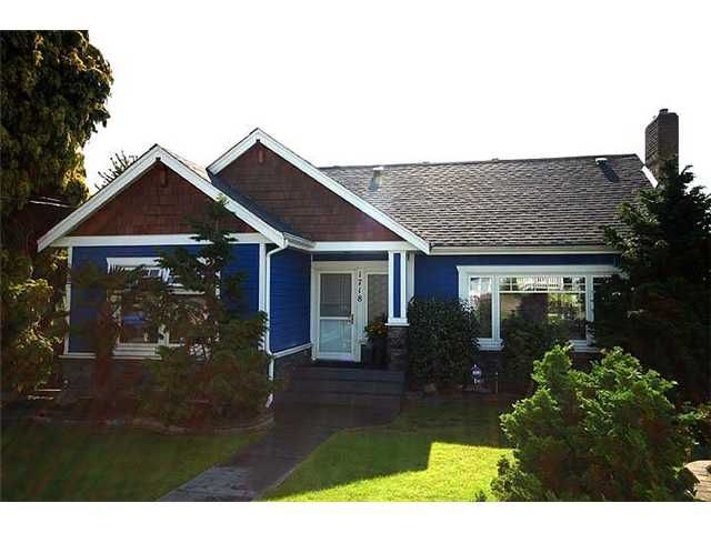 Photo 1: Photos: 1718 NANAIMO ST in New Westminster: West End NW House for sale : MLS®# V905917