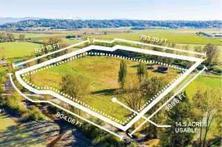 Photo 1: 27612 RIVER Road in Abbotsford: Bradner Land for sale : MLS®# R2502540
