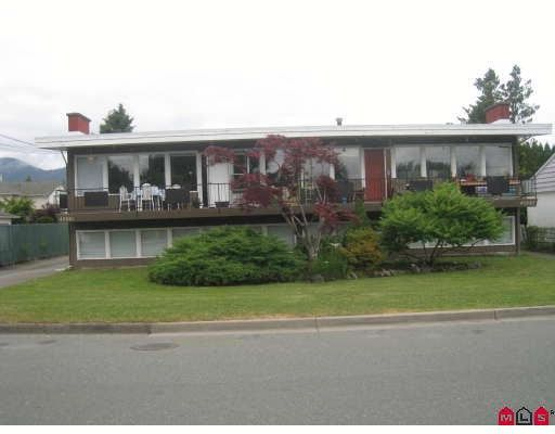 Main Photo: 45881 Lewis Avenue in Chilliwack: Multifamily for sale : MLS®# H2902617