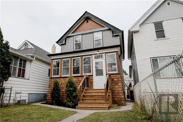 Main Photo: 636 Burnell Street in Winnipeg: West End Residential for sale (5C)  : MLS®# 1828911