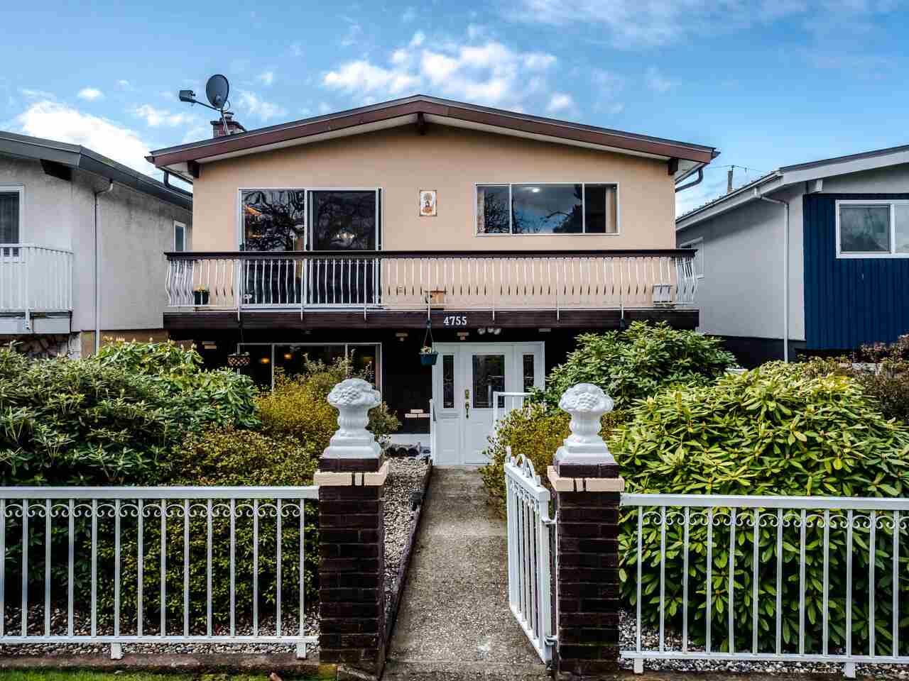 Main Photo: 4755 BEATRICE Street in Vancouver: Victoria VE House for sale (Vancouver East)  : MLS®# R2554309