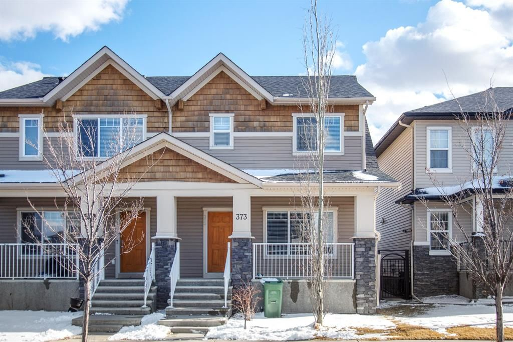 Main Photo: 373 Skyview Ranch Road NE in Calgary: Skyview Ranch Semi Detached for sale : MLS®# A1094902