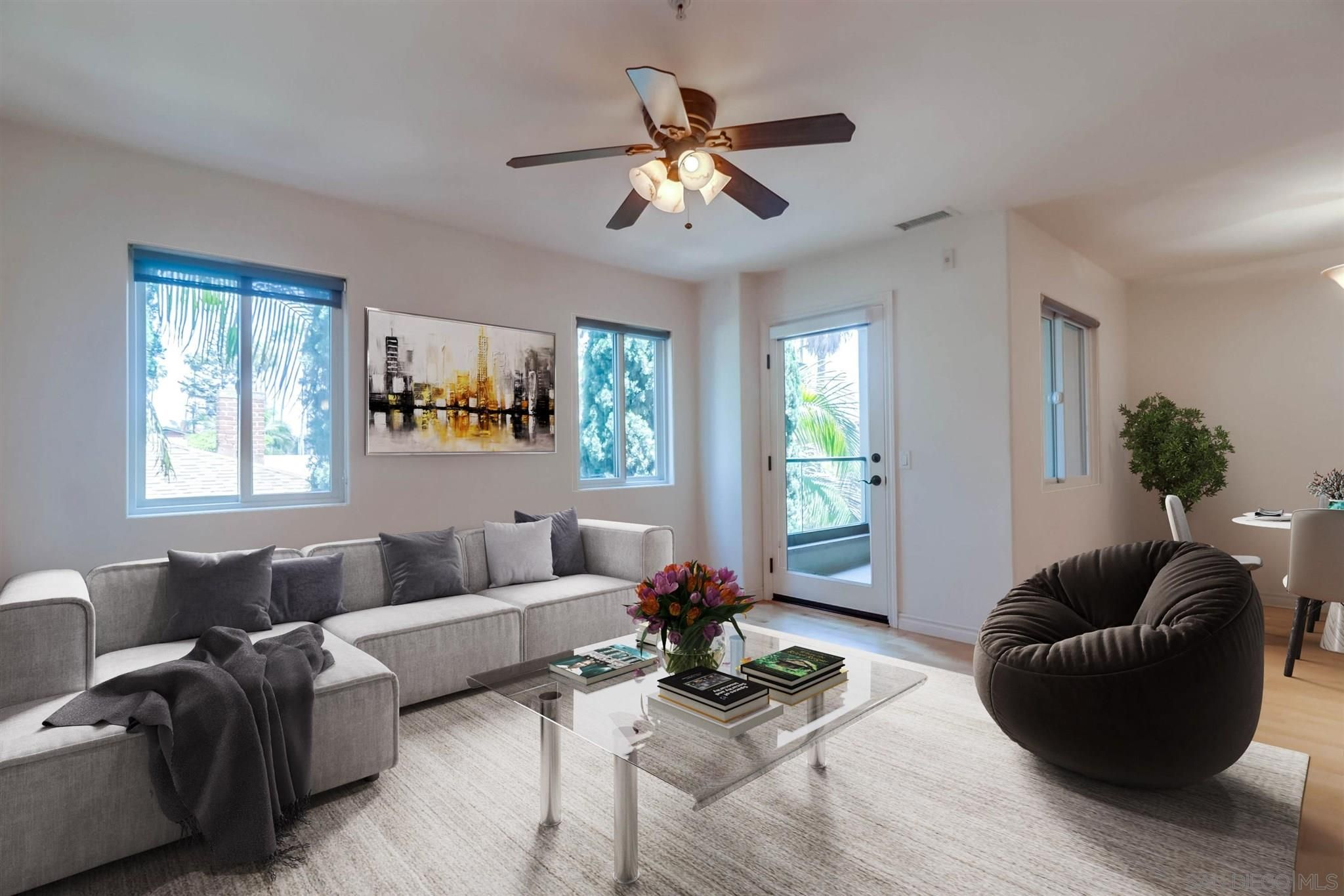 Main Photo: PACIFIC BEACH Townhouse for sale : 3 bedrooms : 4151 Mission Blvd #203 in San Diego