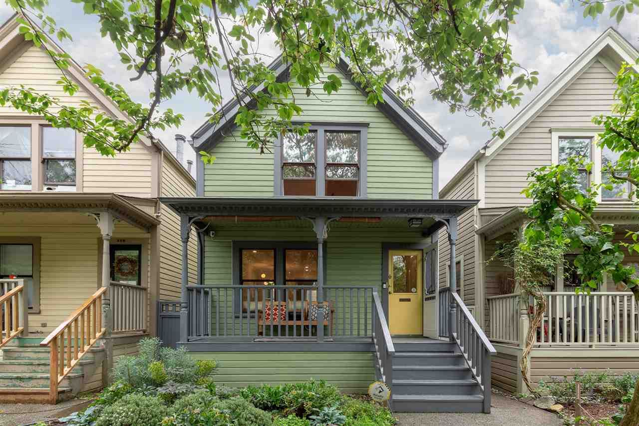 Main Photo: 512 HAWKS AVENUE in Vancouver: Strathcona House for sale (Vancouver East)  : MLS®# R2464241