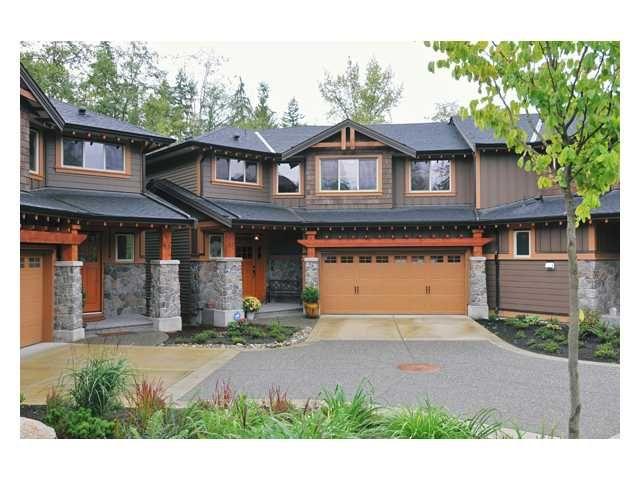 "Main Photo: 52 24185 106B Avenue in Maple Ridge: Albion Townhouse for sale in ""TRAILS EDGE"" : MLS®# V852572"