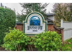 "Main Photo: 51 36060 OLD YALE Road in Abbotsford: Abbotsford East Townhouse for sale in ""MOUNTAIN VIEW VILLAGE"" : MLS®# R2156843"