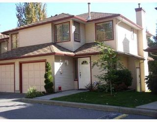 """Photo 1: 41 21960 RIVER Road in Maple Ridge: West Central Townhouse for sale in """"FOXBOROUGH HILLS"""" : MLS®# V793861"""