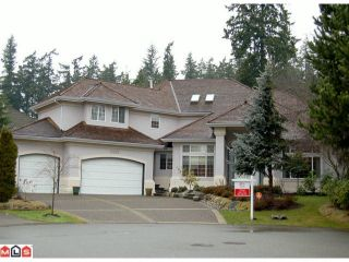 Photo 1: 13267 21ST Avenue in Surrey: Elgin Chantrell House for sale (South Surrey White Rock)  : MLS®# F1101224