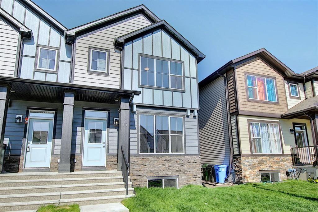 Main Photo: 771 Walgrove Boulevard SE in Calgary: Walden Semi Detached for sale : MLS®# A1117842