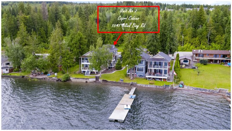 FEATURED LISTING: 2 - 1541 Blind Bay Road Blind Bay