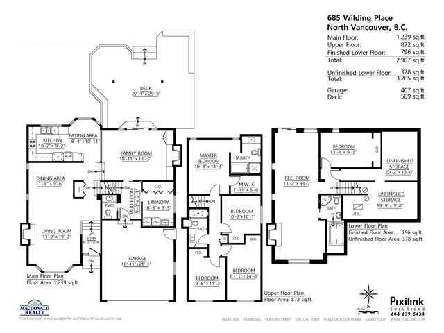 """Photo 20: Photos: 685 WILDING Place in North Vancouver: Tempe House for sale in """"TEMPE"""" : MLS®# V1087335"""