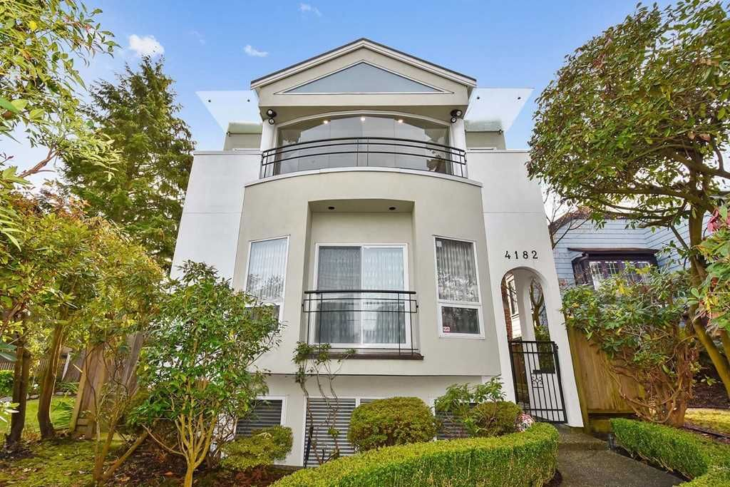 Main Photo: 4182 W 11TH AVENUE in Vancouver: Point Grey House for sale (Vancouver West)  : MLS®# R2528148